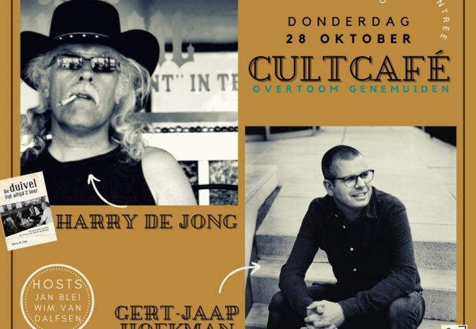 CultCafé Harry de Jong en Gert-Jaap Hoekman